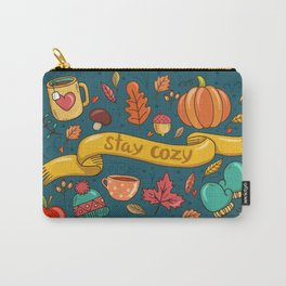 Autumn Is The Time To Stay Cozy Carry-All Pouch