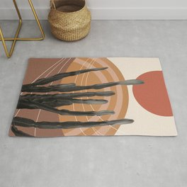 Cactus in the Desert #1 #tropical #wall #art #society6 Rug