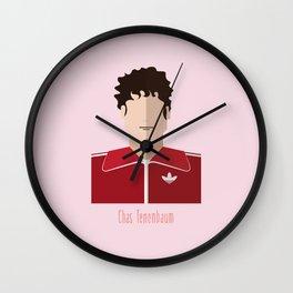 Chas Tenenbaum Wall Clock