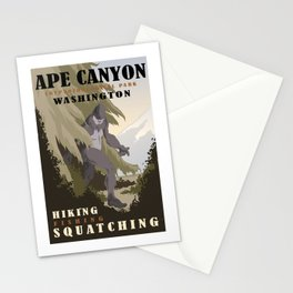CPS: Ape Canyon, WA Stationery Cards