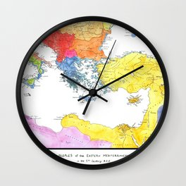 The Ancient Mediterranean Wall Clock