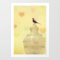 Heartsong Art Print
