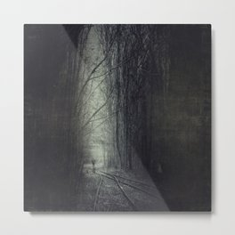 from darkness into light Metal Print