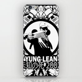 Yung Lean - Stackin it iPhone Skin