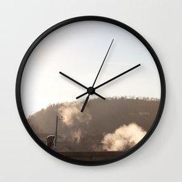 Prague bridge Wall Clock