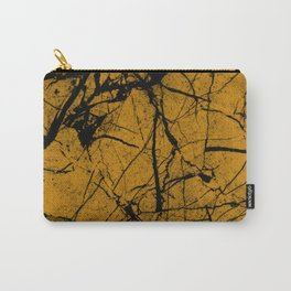 Dusty Golden Marble Carry-All Pouch