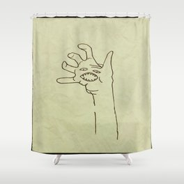 Hey, How's It Goin' Shower Curtain