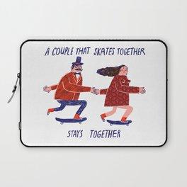 skate couple Laptop Sleeve