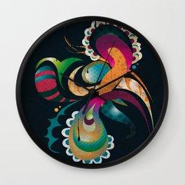 Organic 4 Wall Clock