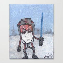 Hoth Coffee Canvas Print
