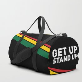 Get Up Stand Up / Rasta Vibrations Duffle Bag