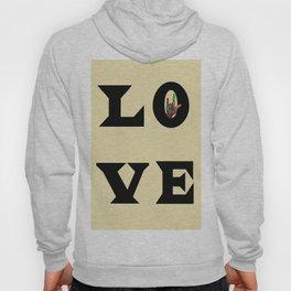 LOVE Typography Hoody