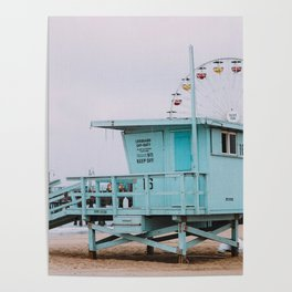 Lifeguard Off Duty Poster