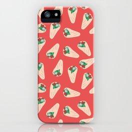 Kebab pattern iPhone Case