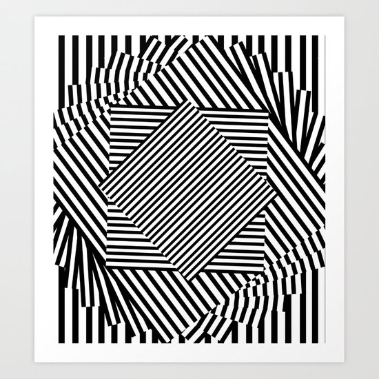 LOST/THOUGHTS Art Print