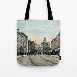 Fore Street Tiverton Devon 1890s Tote Bag
