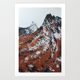 The Rockies East of Estes Park Art Print