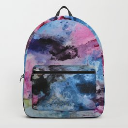 Rage Ink 2- Mixed Media Painti Backpack