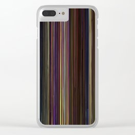 Toy Story Movie Barcode Clear iPhone Case