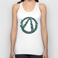borderlands Tank Tops featuring Borderlands 2 by Bill Pyle