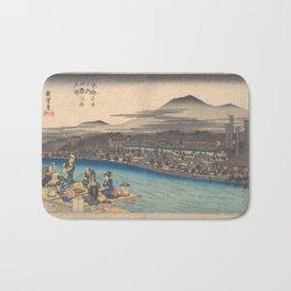 Japanese Print Bath Mat
