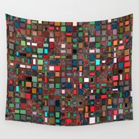 mosaic Wall Tapestries featuring Mosaic by Lyle Hatch