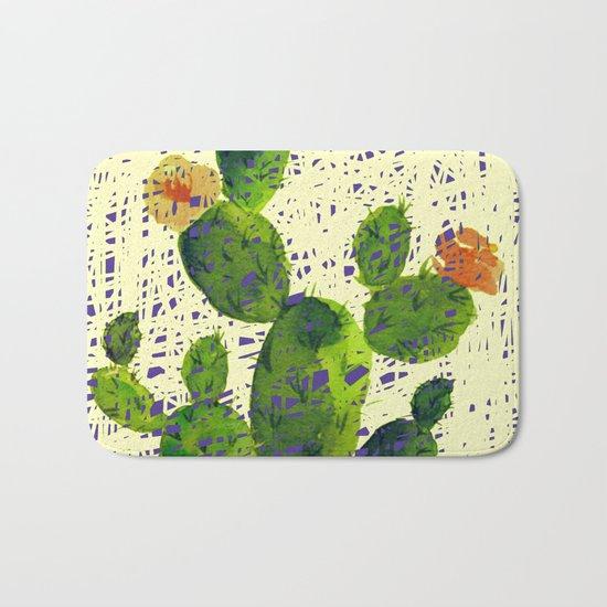 weird cactus Bath Mat