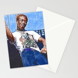 Lil Uzi Vert - Blue Couture Stationery Cards