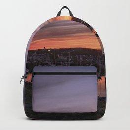 Last Rockport Sunset of Summer Backpack
