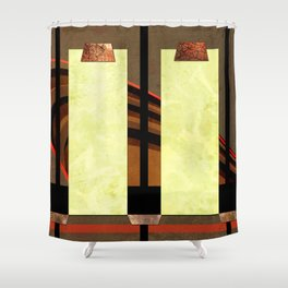 Mica Curves Shower Curtain