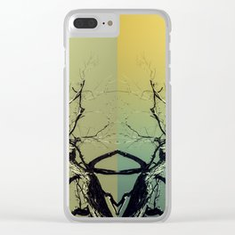 Unknown Ghost of the Forest Clear iPhone Case