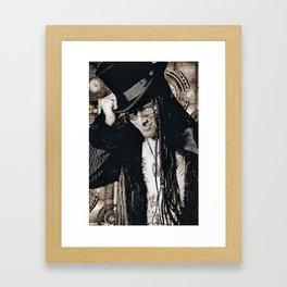 Mr. Steampunk Framed Art Print