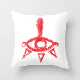 Yiga Clan Symbol Throw Pillow