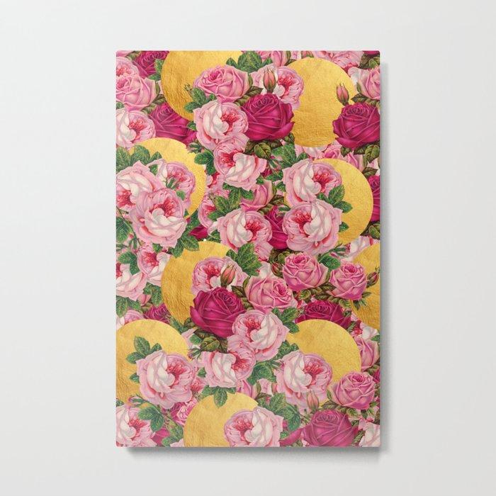 Rosy Gold Metal Print
