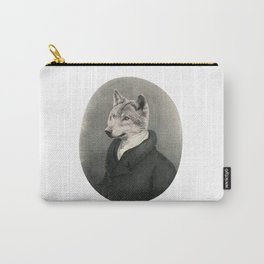 Lithography wolf Carry-All Pouch