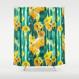 Marcia (Flowering Cactus) Shower Curtain