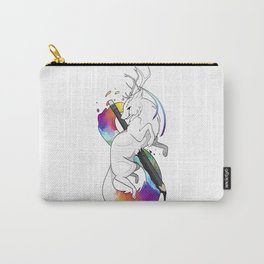 RitheWolf - To Be an Artist Carry-All Pouch