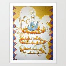 Circus: Ring 2 Art Print