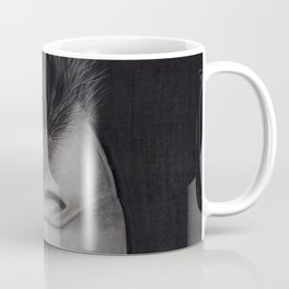 'GAZE' - Wedge Tail Eagle, original artwork in Charcoal & Pastel Coffee Mug