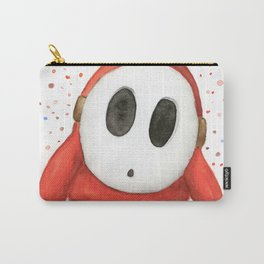 Confused Shy Guy Carry-All Pouch