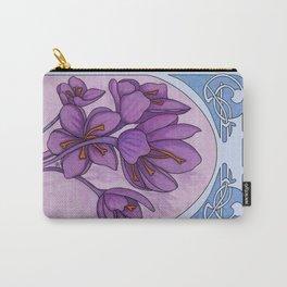 Art nouveau. Saffron. Carry-All Pouch