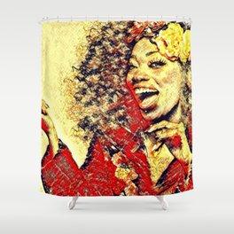 Ebony Joy Shower Curtain