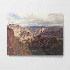 Skywalk Metal Print