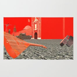 Squared: Collision of sound Rug