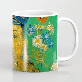 Vincent van Gogh - Portrait of Postman Coffee Mug