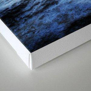 Blue water Canvas Print