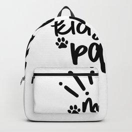Tote Bag My Kids Have Paws Pet Bag Backpack