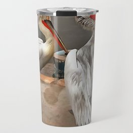 Pelicans - The Grey Twins Travel Mug