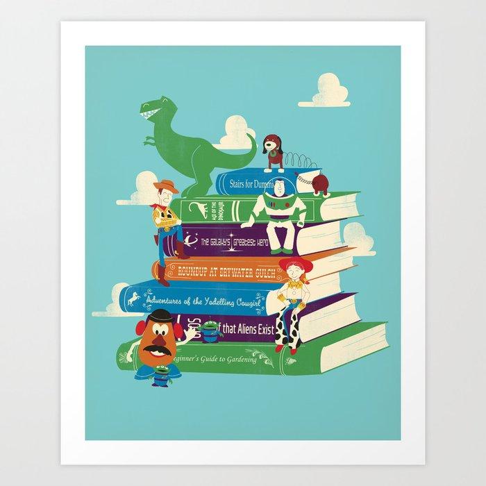 Toy Stories Art Print