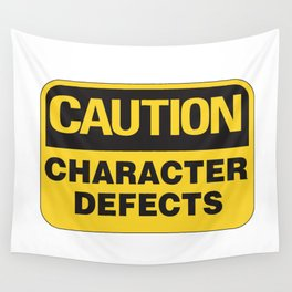 Character Defects Wall Tapestry